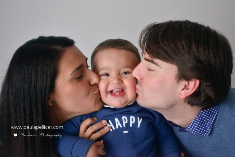 Fotografía de Familia – Estudio & Bosque