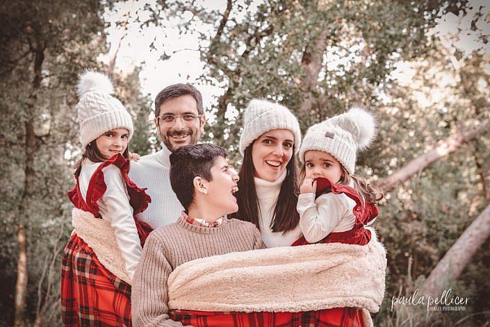 fotografia navidad christmas familia barcelona