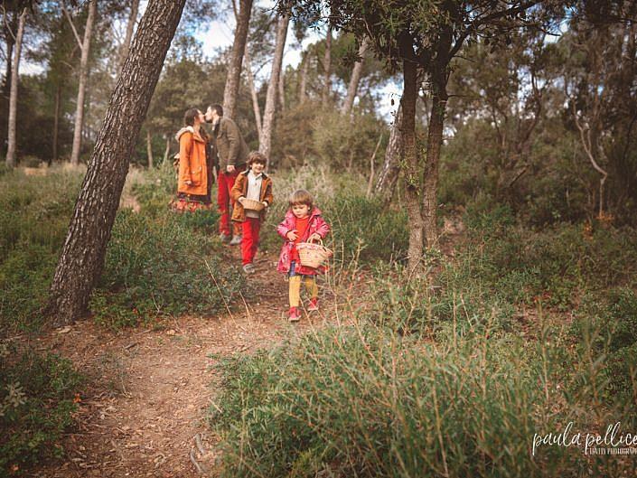 fotografia campo bosque exteriores familia barcelona