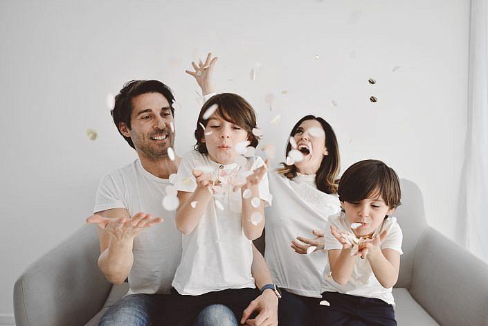 fotografia familia barcelona estudio palabra de madre