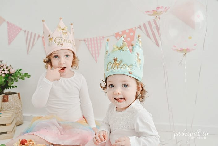 fotografia cumpleaños familia barcelona smash cake estudio