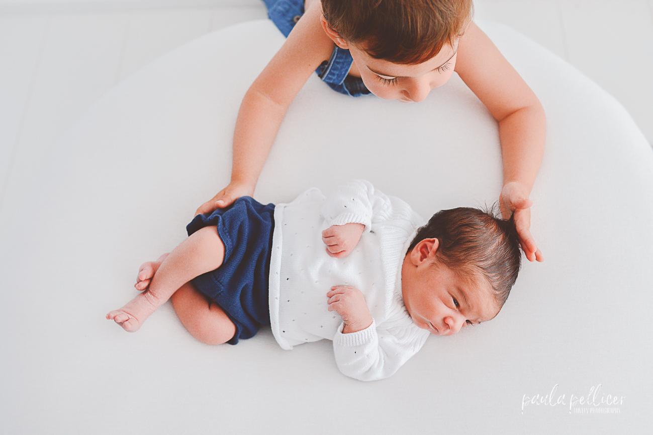 FOTOGRAFIA DE EMBARAZO Y NEWBORN: BRUNO Y HUGO