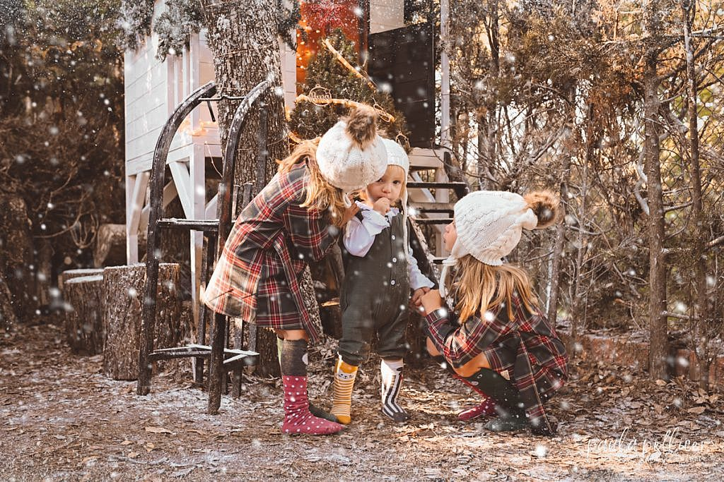 fotografia navidad familia niño barcelona  paula pellicer fotografia