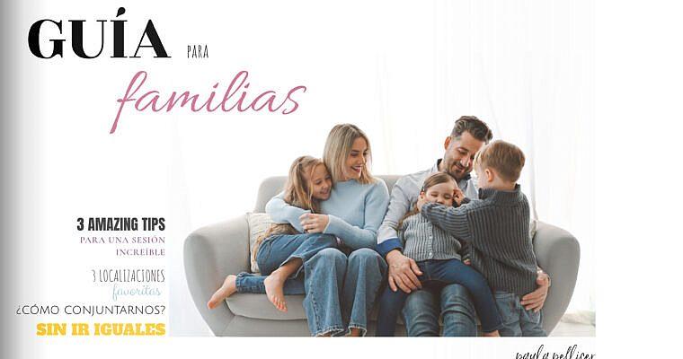 GUÍA IMPRESCINDIBLE: ¡una sesión de fotos en familia REDONDA!