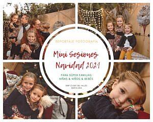 REPORTAJE NAVIDAD MINI SESIONES 2021 FAMILIA NIÑOS BARCELONA
