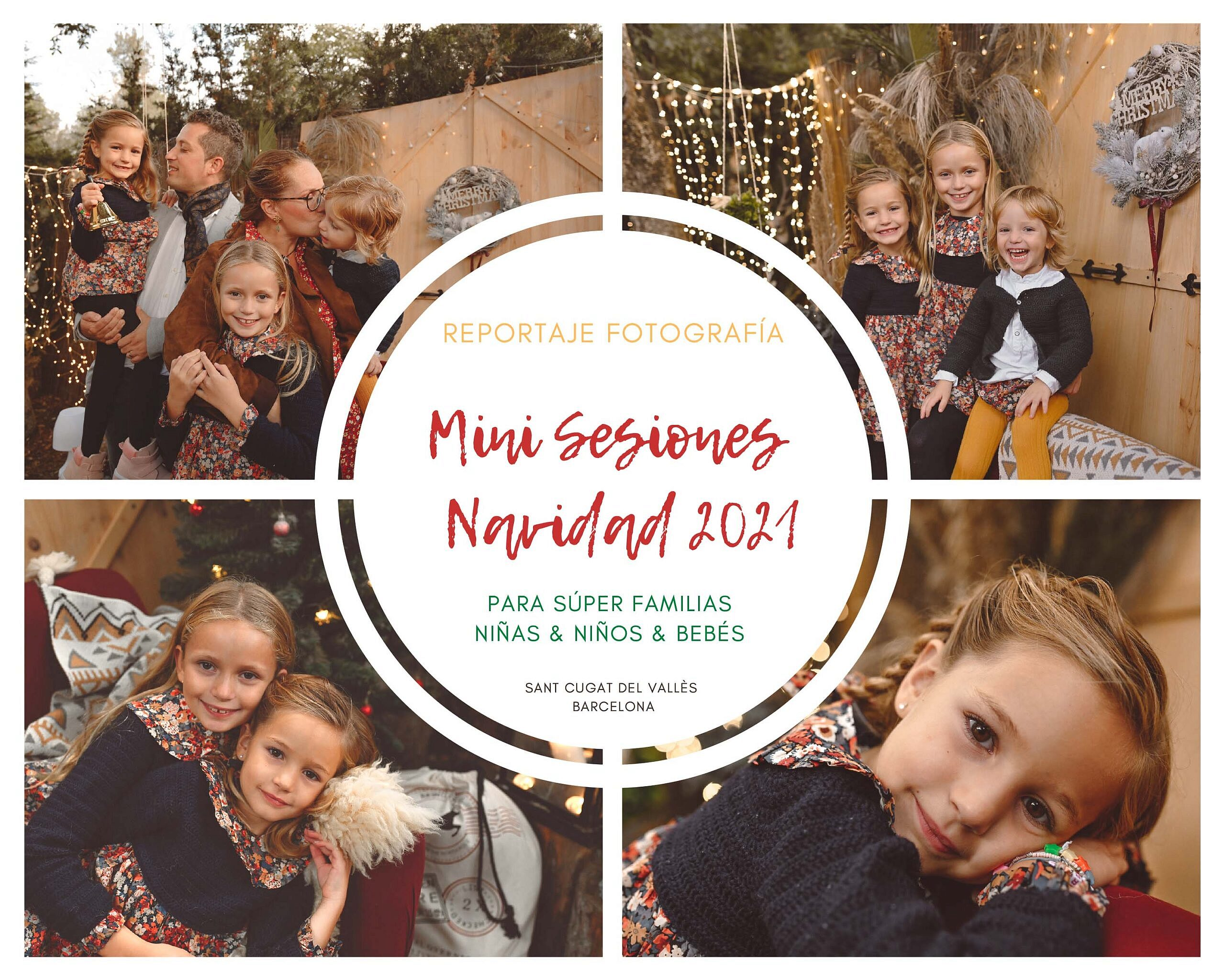 Sesión Fotos de Navidad en Barcelona 2021