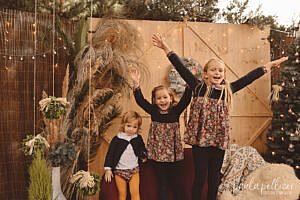 Sesión Fotos de Navidad en Barcelona 2021 niños reportaje