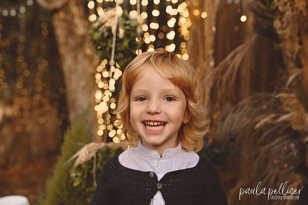 Sesión Fotos de Navidad en Barcelona 2021 niños